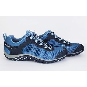 New Merrell riverbed hiking shoes sneakers navy